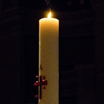 Alice interfaith gathering Easter candle 150