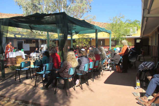 Central Australia Raass Mass congregation 650